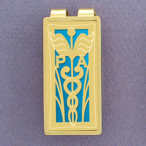 Physician Assistant Money Clip