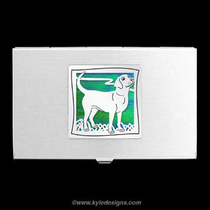 Dog Business Card Holder
