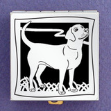 Labrador Dog Pill Box