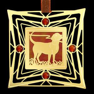 Labrador Dog Christmas Ornament