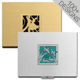 Designer 100mm Cigarette Case Large Metal Wallet
