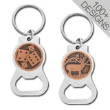 Cool Bottle Opener Key Chains in 100s of Copper Designs