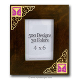 Decorative Bubbles Picture Frame in 100s of Custom Designs