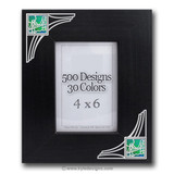 Unique Decorative Wood Picture Frames with Personalized Designs