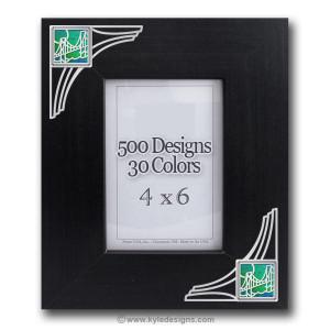 Unique Decorative Wood Picture Frames with Personalized Designs