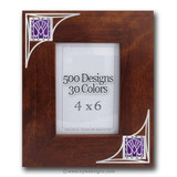Soaring Arc Wood Photo Frame