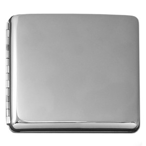 "Square 3.25"" Card Wallet or Cigarette Case - Double-Sided"