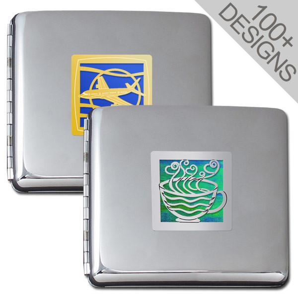 9d554f33e22a Square Business Card Holder Case 3.25