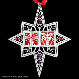 Christian Nurse Ornament