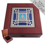 "Locking Jewelry Boxes - 100+ Glass & Metal Designs 6"""