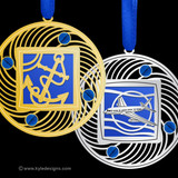 Blue Christmas Ornaments - 100+ Designs