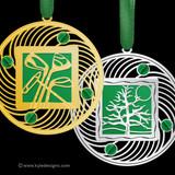 Green Christmas Ornaments - 100+ Designs