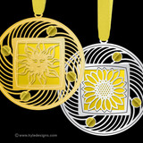 Yellow Christmas Ornaments - 100+ Designs