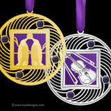 Purple Christmas Ornaments - 100+ Designs