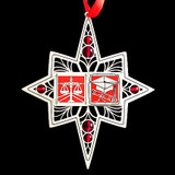 Red Law School Graduation Ornament