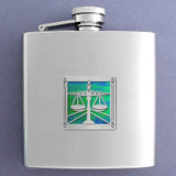 Attorney Flask 6 Oz Stainless Steel