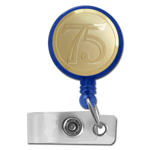 75th Retractable ID Badge Holders