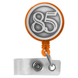 Number 85 ID Name Badge Reel