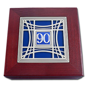 Number 90 Wood Boxes for 90th Birthday