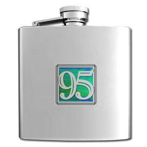95th Celebration Flask 6 Oz