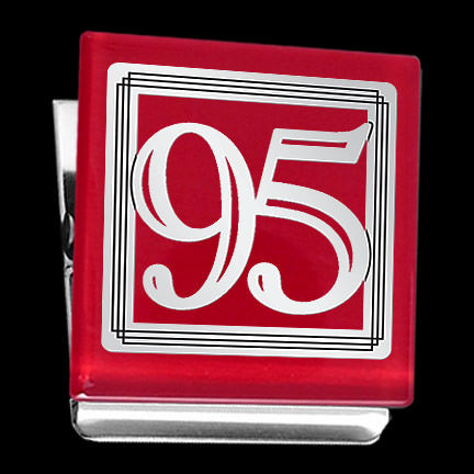 Number 95 Fridge Magnet Clip For Birthday Or Anniversary