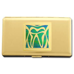 Dentist Metal Wallet or Cigarette Case