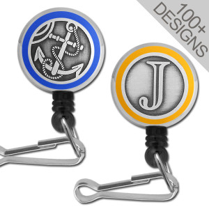 Mini Badge Reels in 100+ Cool Designs - Alligator Clip & Swivel Hook