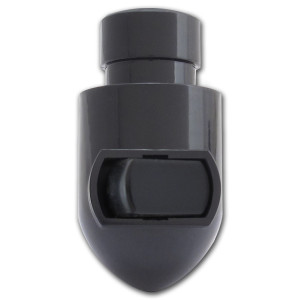Plug-in Night Light Base Sockets - Black