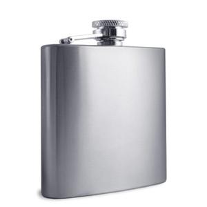 Engraved 6 Oz. Stainless Steel Liquor Flasks