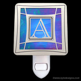 Monogrammed Letter A Night Light