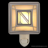 Letter N Monogrammed Night Lights