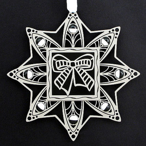 Bow Christmas Ornament