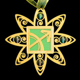 Sagittarius Sign Christmas Tree Ornaments