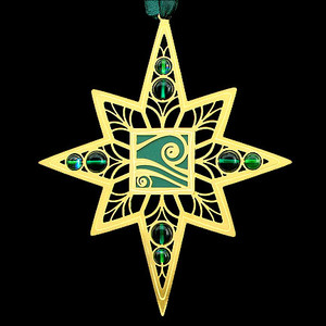 Aquarius Christmas Ornaments