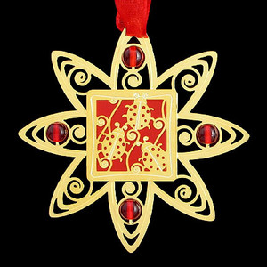 Ladybug Christmas Ornament