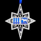 Blue Dog Democrats Christmas Ornaments