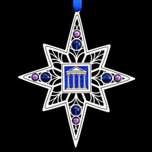 Greek Parthenon Christmas Ornaments