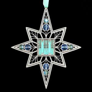 Art Deco Holiday Ornament