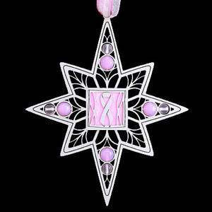 Breast Cancer Christmas Ornaments