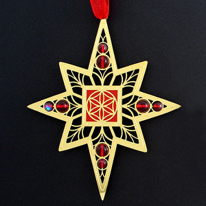 Flower of Life Christmas Ornaments