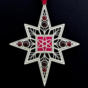 Atomic Christmas Ornaments