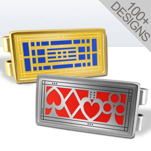 Unique Custom Money Clips - Choose a Design