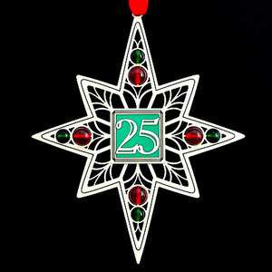 25th Anniversary Ornaments