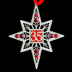 35th Anniversary Ornaments