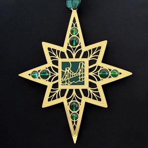 Bridge Christmas Ornament