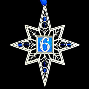 6th Birthday Christmas Ornament