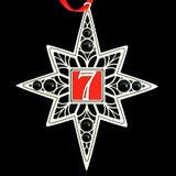 Custom 7th Birthday Ornaments