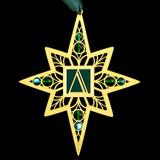 Greek Delta Symbol Ornament