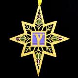 Gamma Letter Ornaments