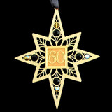 Golden 60's Christmas Ornament
